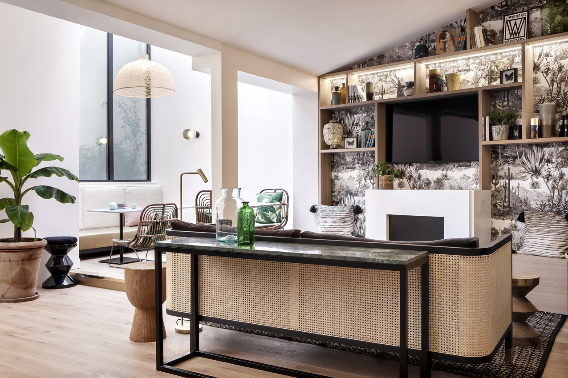 Hotel Doisy in Paris with interiors by BR Design Interieur ...
