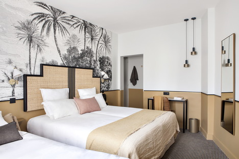 hotel doisy in paris with interiors by br design interieur livegreenblog. Black Bedroom Furniture Sets. Home Design Ideas