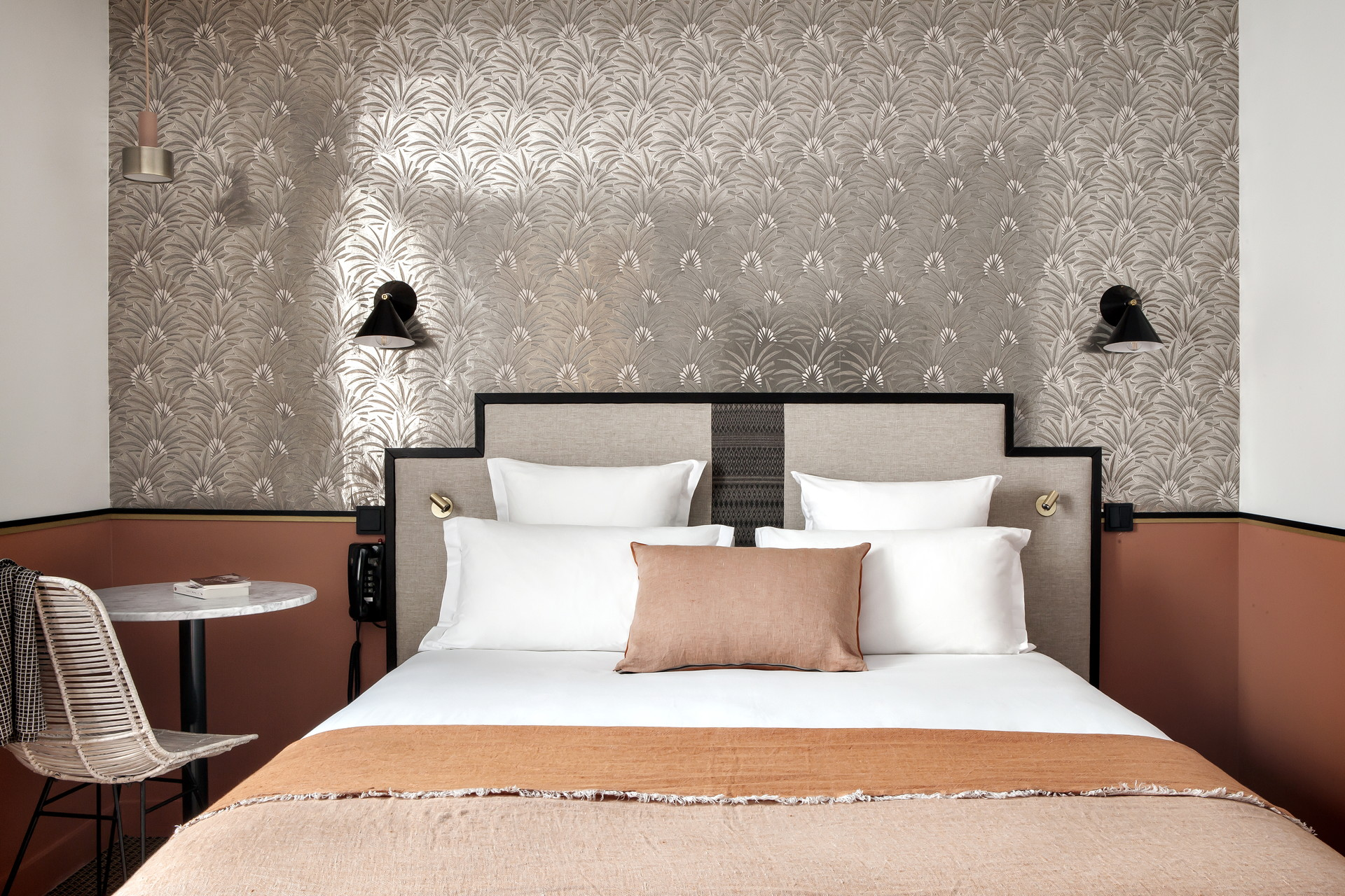 hotel doisy in paris with interiors by br design intrieur