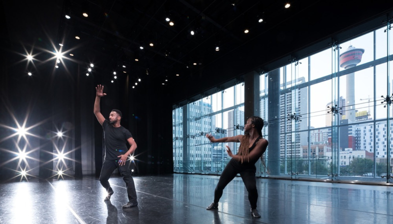 Dance, architecture and sustainability - DIALOG for DJD in Calgary