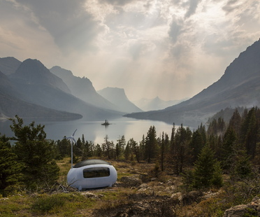 Ecocapsule, a mobile, self-sufficient micro-home
