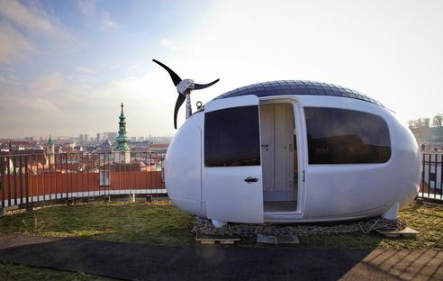 Ecocapsule, a mobile, self-sufficient micro-home
