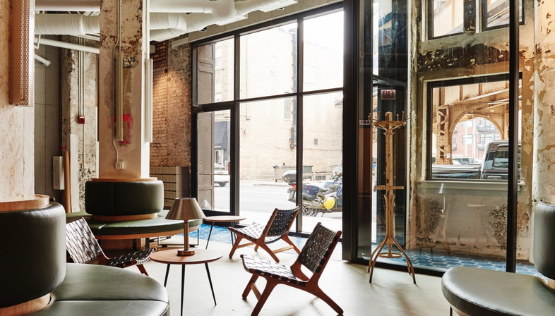 The Robey Hall Hotel, Chicago by DELORDINAIRE