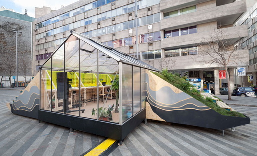 An itinerant design studio in Madrid