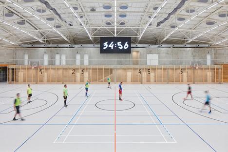 Dolní Břežany Sports Hall by SPORADICAL
