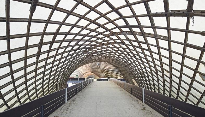 "Venice Biennale, Frei Otto's Multihalle at 'Freespace"""