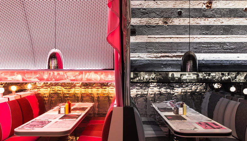 Fuorisalone, The Diner by David Rockwell