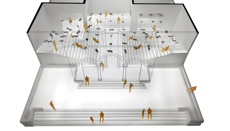Greece participates in the 16th International Architecture Exhibition with The School of Athens