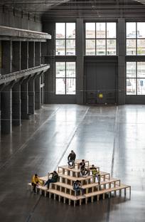 LACKTOPIA by ENORME Studio for LA NAVE, Madrid