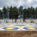 Boa Mistura, a public square in a refugee camp in Ritsona