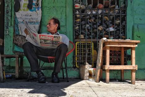 The public space from Mexico to El Salvador, photography exhibition by René Valencia