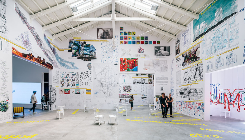 The Spain Pavilion, becoming at Freespace, 2018 Architecture Biennale
