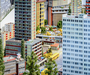 Modernism in railway models on show at the DAM