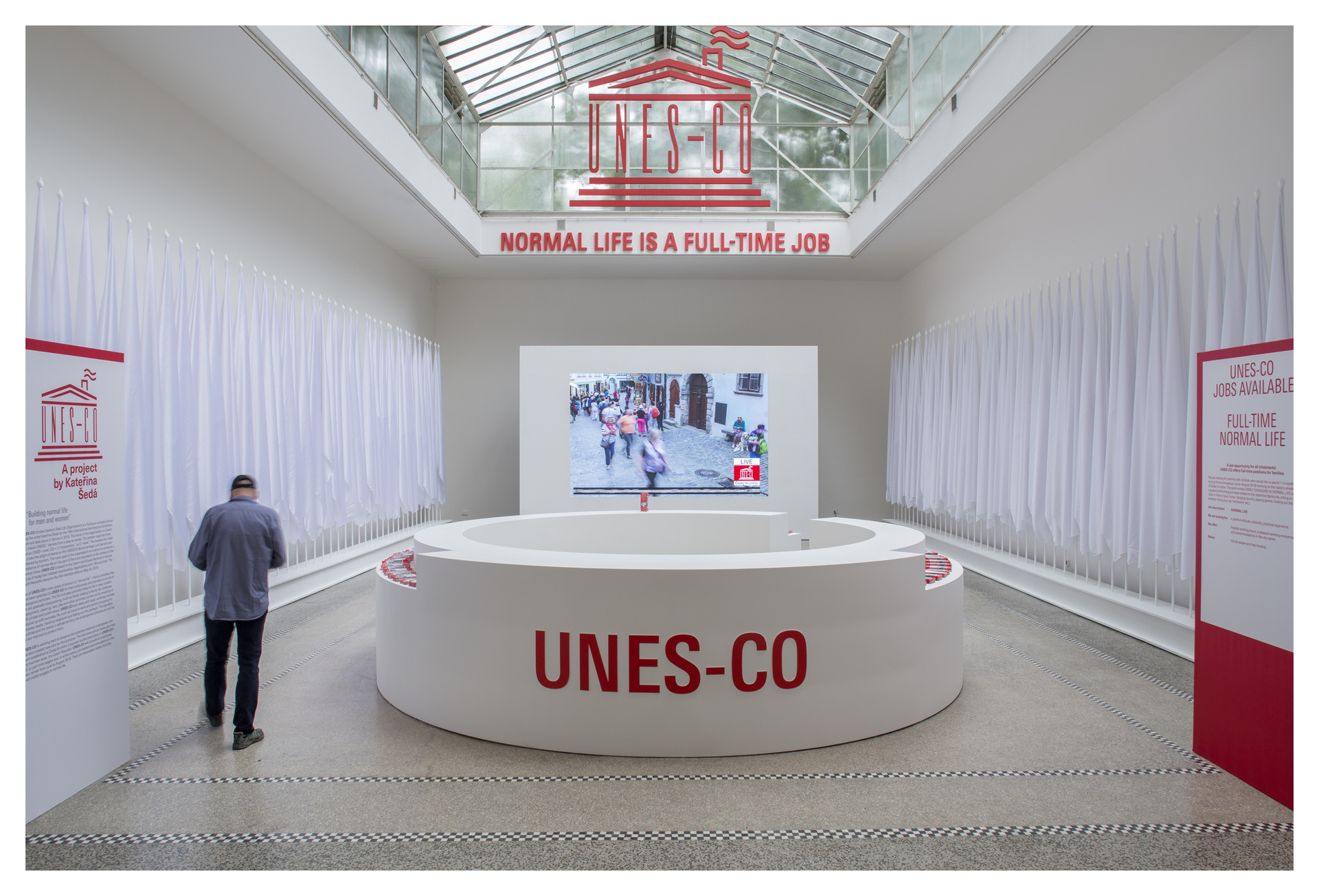 2018 Architecture Biennale UNESCO or normal life in the