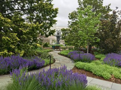 Bartholdi Park in Washington DC achieves SITES Gold certification