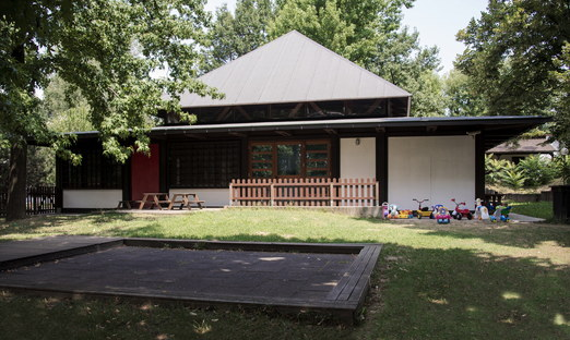 Girelli holiday camp in Ivrea, just declared a UNESCO World Heritage Site