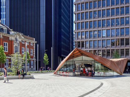 Make Architects and the Portsoken Pavilion in London