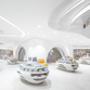 Wutopia Lab designs an all-white bookstore in Xi'an, China