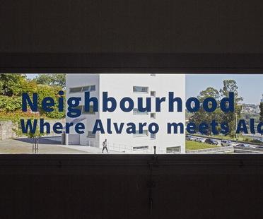 Exhibition Neighbourhood: Where Alvaro meets Aldo, in Porto