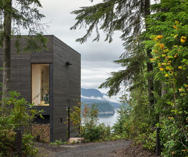A small house overlooking Hood Canal, Washington