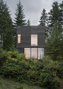 A small house overlooking Hood Canal, Washington