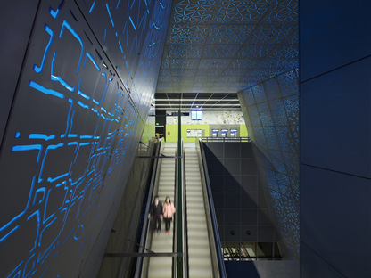 UW Transit Station, Seattle, by LMN Architects