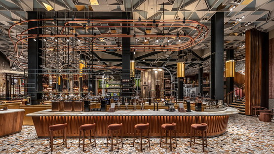Starbucks Reserve Roastery in the former Palazzo delle Poste, Milan