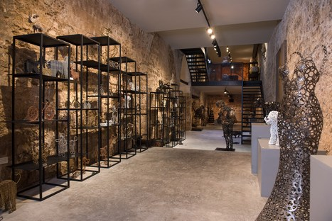 Nirit Levav Packer's gallery in a historic building in Tel Aviv