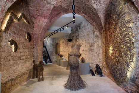 Nirit Levav Packer's gallery in a historic building in Tel Aviv