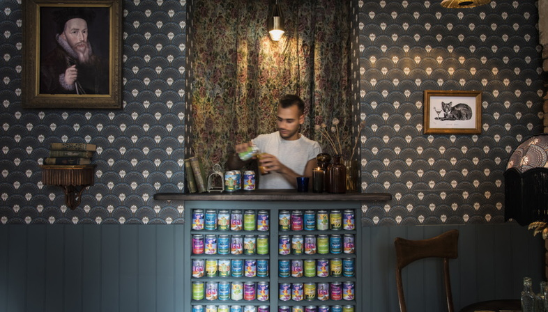 Mad Atelier at the London Design Festival with a pop-up pub