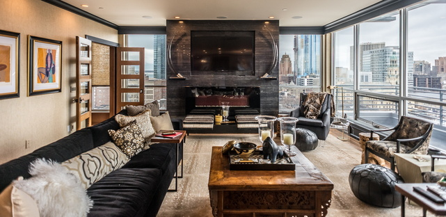 Downtown Dream, award-winning interior design by Andrea Farr