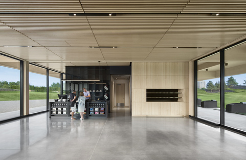 Architecture49, regional materials showcased for the Golf Exécutif Montréal clubhouse