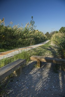 THE PASTORA Linear Park by Harari Landscape Architecture, an urban forest park