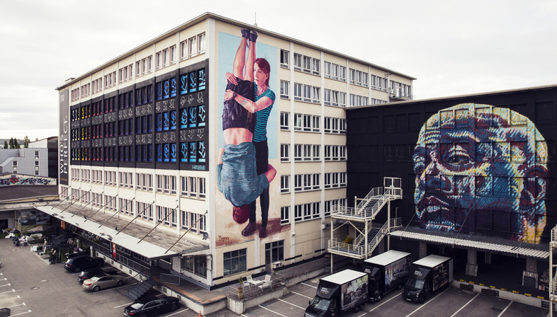 KUNSTLABOR in Munich, creative temporary use