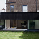Binom Architects, a house in pear and larch wood