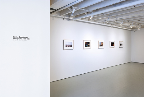 Exhibition Denise Scott Brown Photographs, 1956-1966
