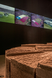 Stadium, Chile's participation in the 16th International Architecture Exhibition in Venice