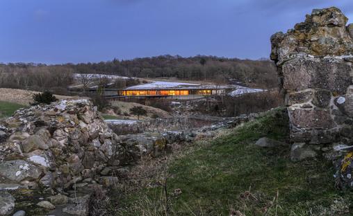 Hammershus Visitor Center in Bornholm, Denmark