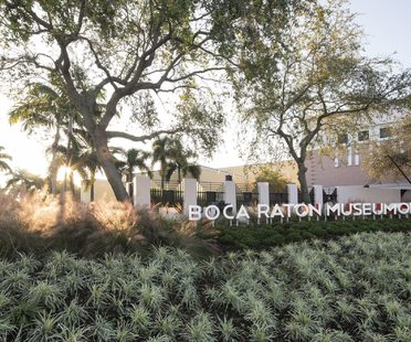 Glavovic Studio is behind the refurbishment of the Boca Raton Museum