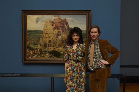 Exhibition in Vienna curated by Wes Anderson and Juman Malouf