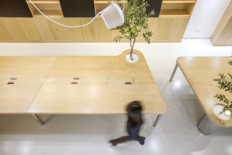 TOWO design presents its very own offices, working in style