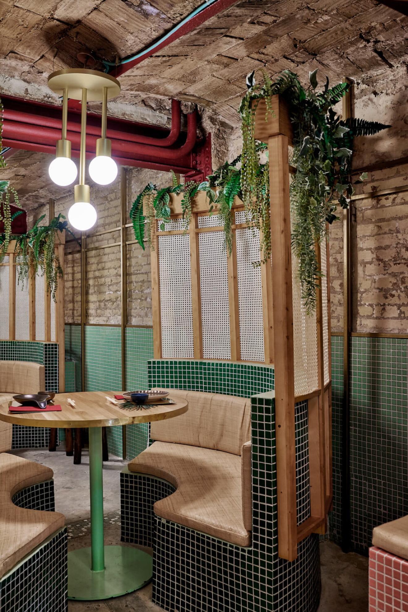Masquespacio Designs Kaikaya Tropical Sushi Restaurant Livegreenblog