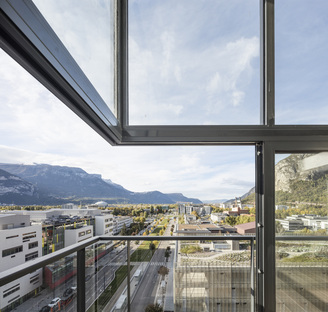 Panache by Edouard François in Grenoble, vertical sustainability
