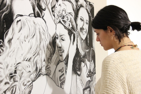 An exhibition on Street Art by Ozmo