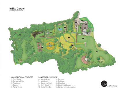 InSitu Garden, sustainable green in Connecticut by Land Morphology
