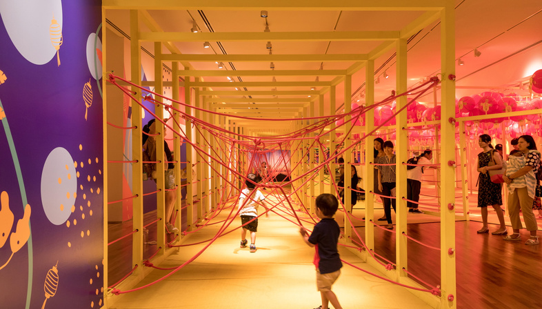 WY-TO and the Children's Festival at the National Gallery Singapore