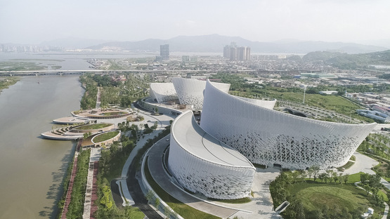 PES-Architects and the Fuzhou Strait Culture and Art Centre
