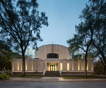 Dow Planetarium, a practical architectural refurbishment