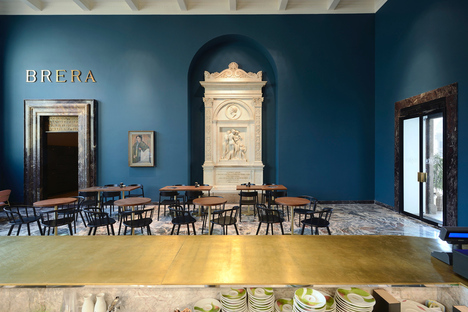 Caffè Fernanda by rgastudio, a symphony of colours at the Brera Pinacoteca