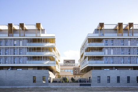Luminescence, housing by NBJ Architectes in Montpellier